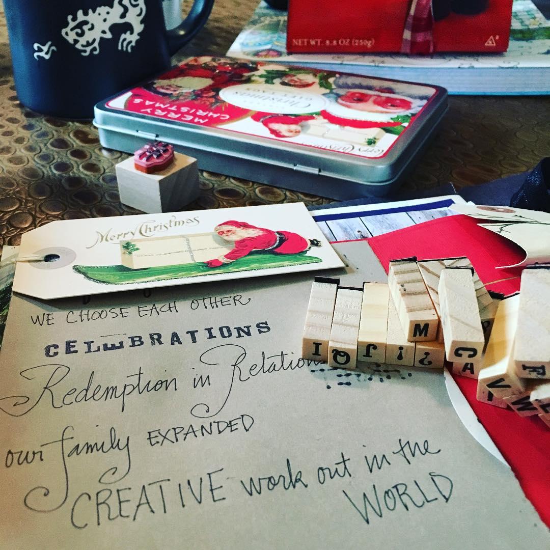 25 December 2015 Shared gratitudes with each other before presentshellip