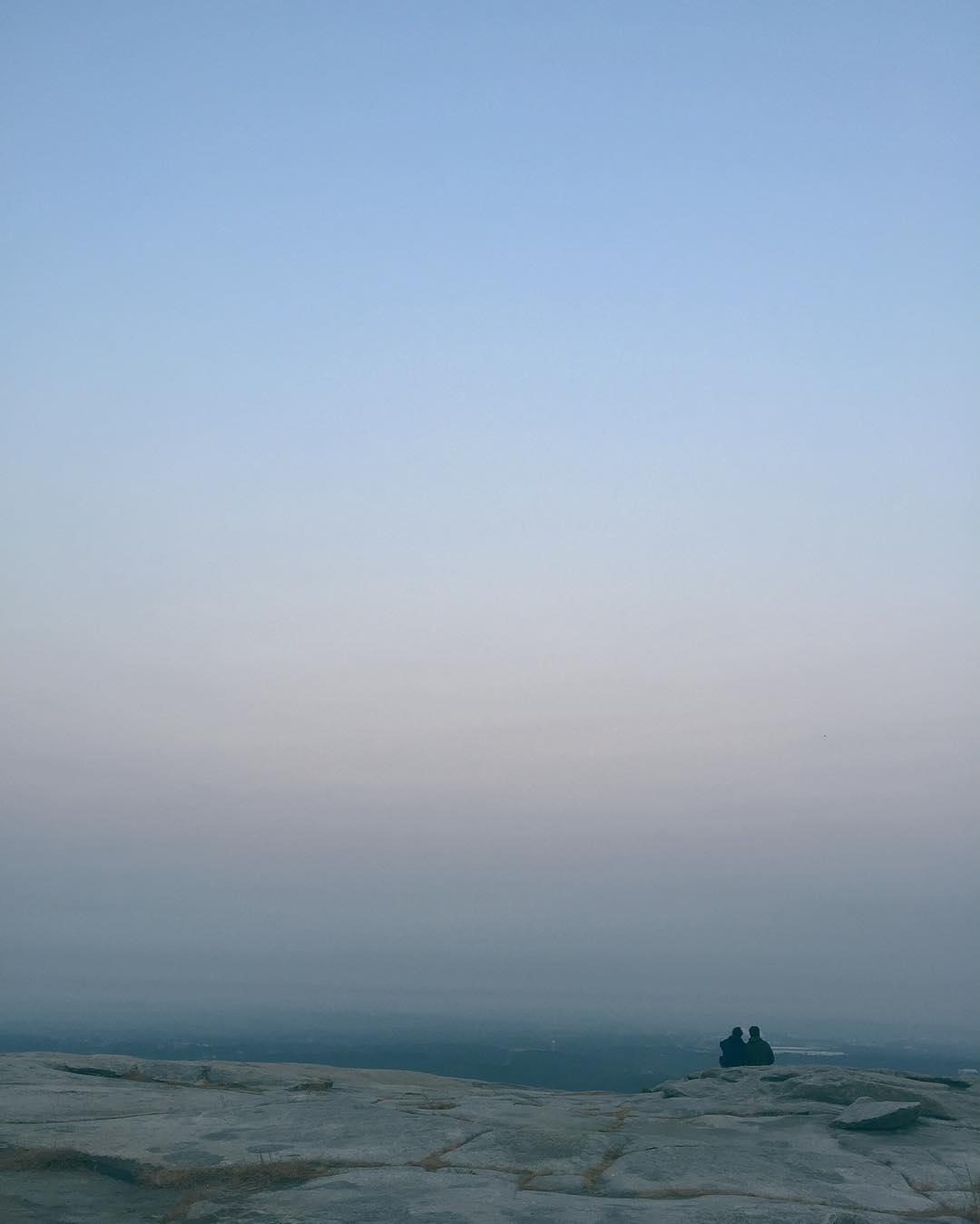 Monday 14 November 2016 We climbed Stone Mountain to spendhellip